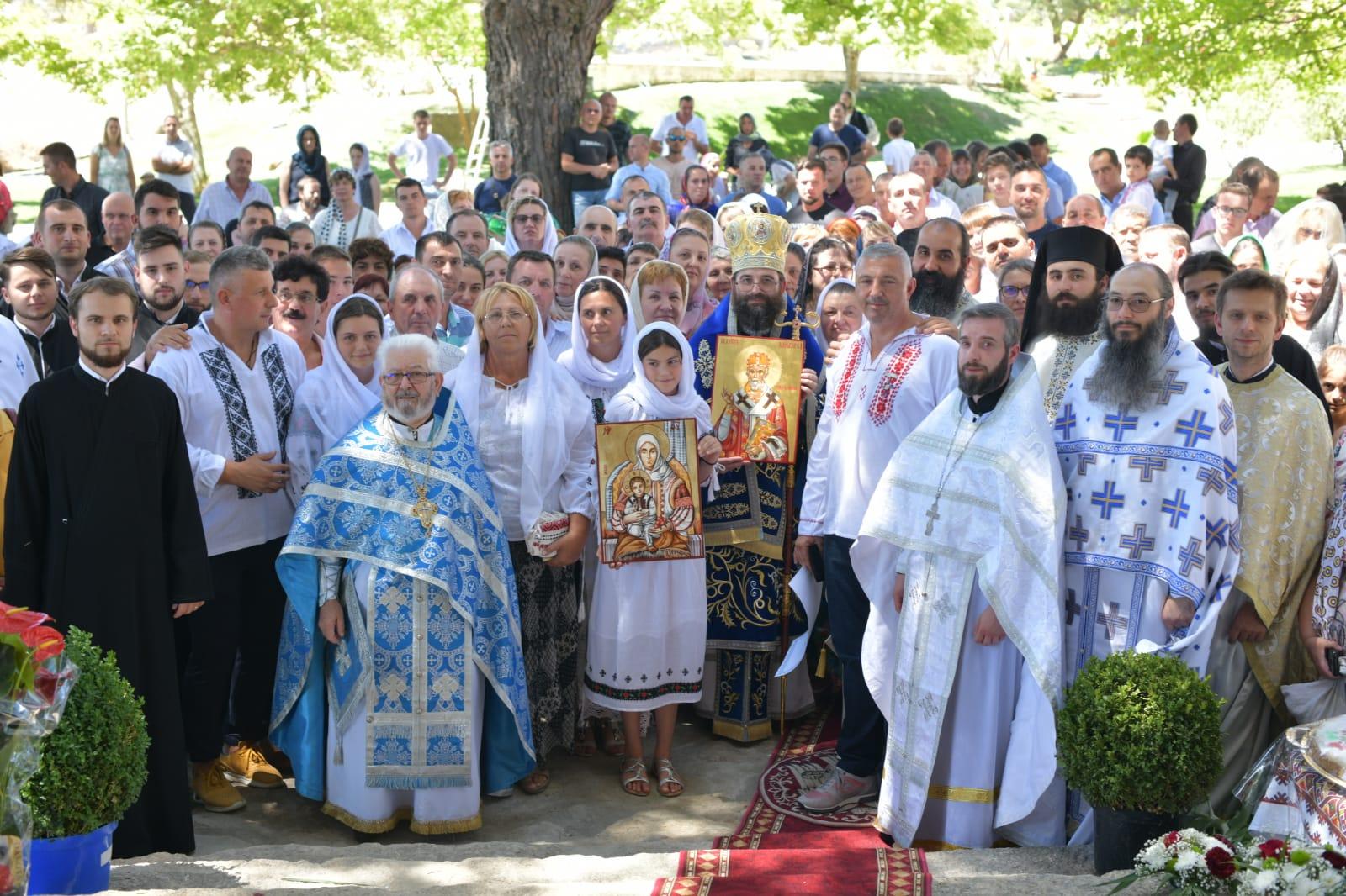 Primul hram al Mănăstirii Ortodoxe Române Adormirea Maicii Domnului – Aldeia de Santa Margarida, Portugalia